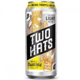 2 Hats Pineapple (16oz Can - 4/6)