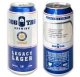 Dog Tag Legacy Lager (16oz Can - 4/6)